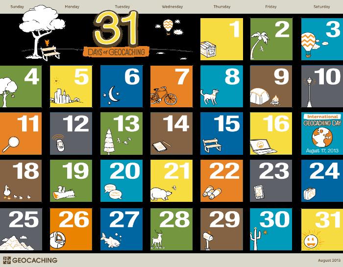 31 Days of Geocaching
